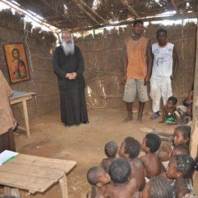Αχυροκαλύβα στην περιοχή Τουλιάρα λειτουργεί ως Ιερός Ναός