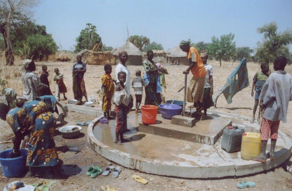 Ανάγκη πηγαδιών στο Μαλάουι
