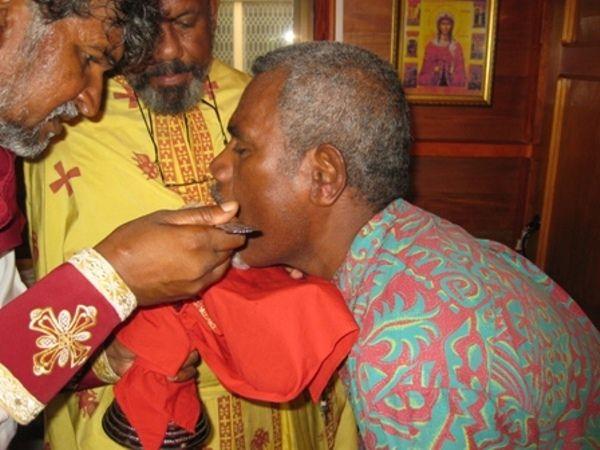 Θεία Κοινωνία στα Νησιά Φίτζι