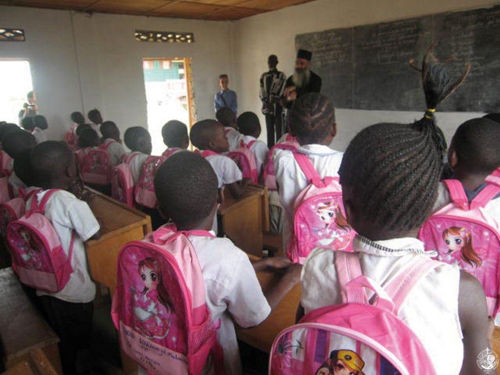 Επίσκεψη σε ορθόδοξο σχολείο της Μητροπόλεως