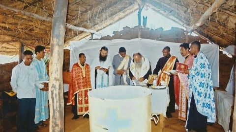 Βάπτιση στη Μαδαγασκάρη