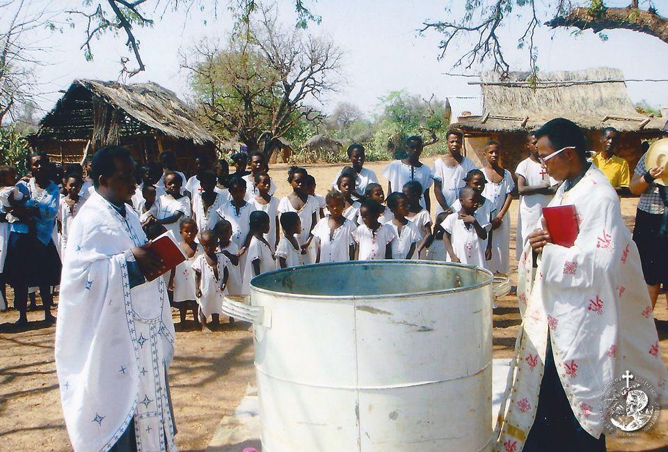 Βαπτίσεις στην ύπαιθρο