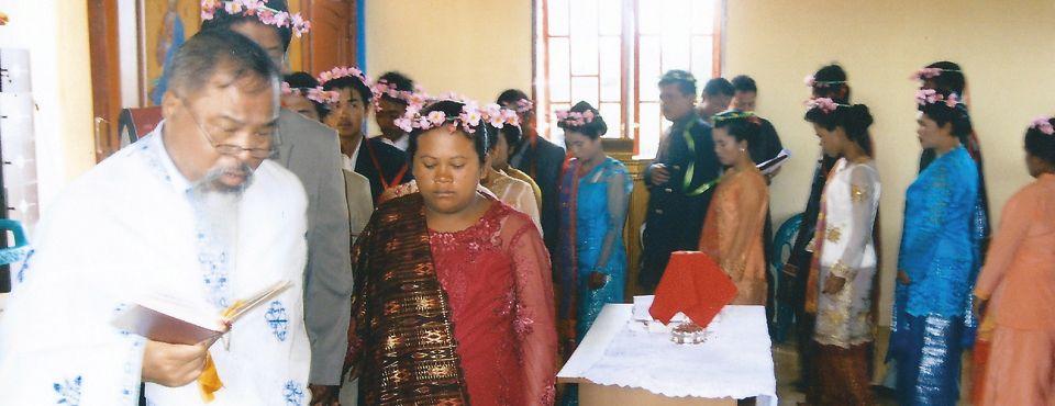 Ομαδικός γάμος στο Sumbul