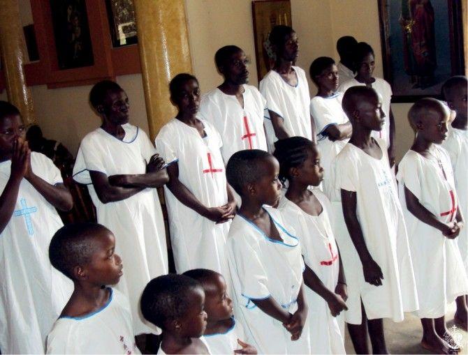 Βαπτίσεις στο Μπουρούντι