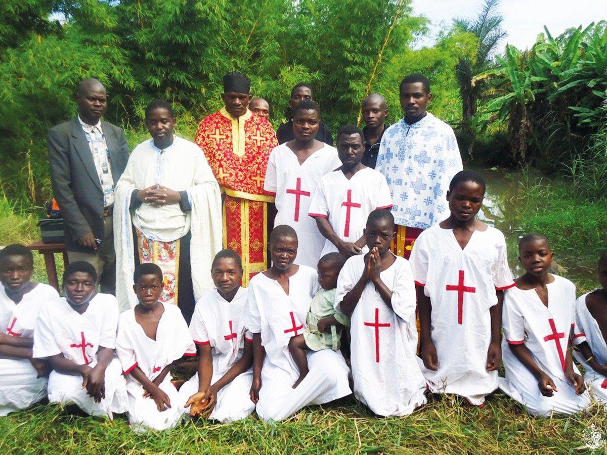 Νεοφώτιστοι Ορθόδοξοι στο Μαλάουι