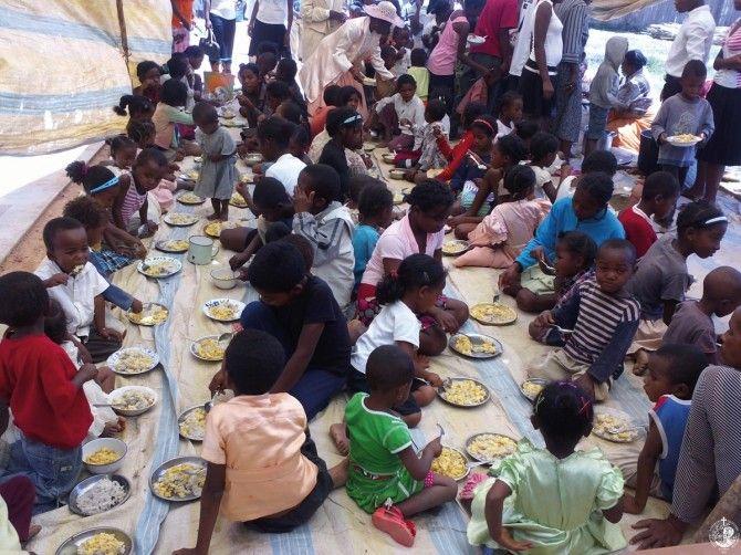 Συσσίτια παιδιών στο Ανταναναρίβο