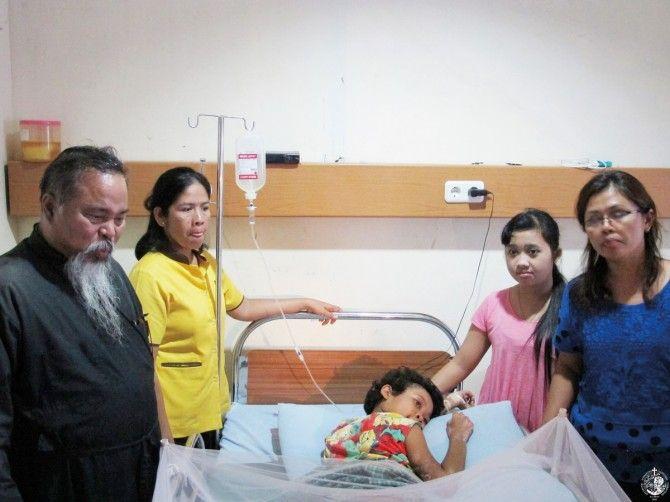 """Επίσκεψη στο νοσοκομείο """"Θεοτόκος"""""""