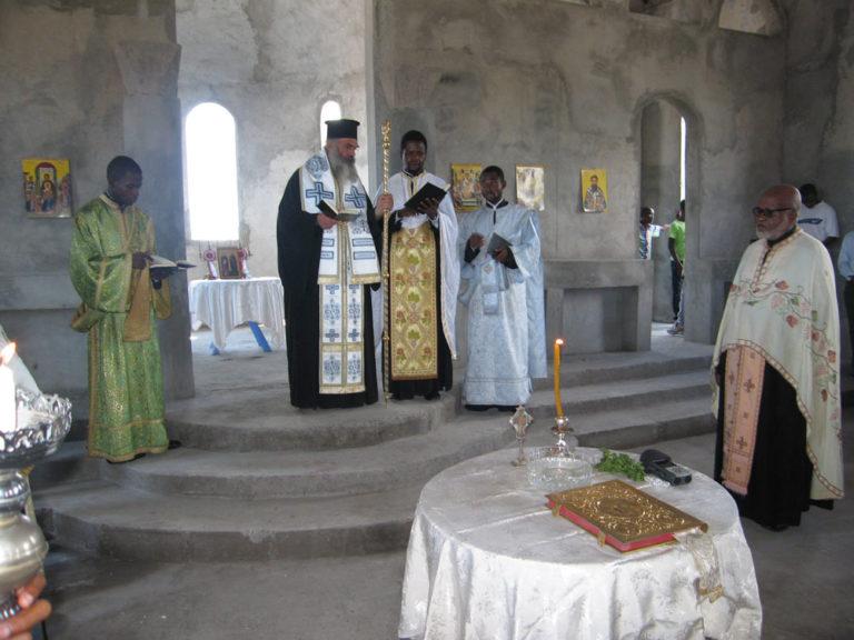 Ιερός Ναός Αγίων Αρχαγγέλων, Kinshasa, Κονγκό