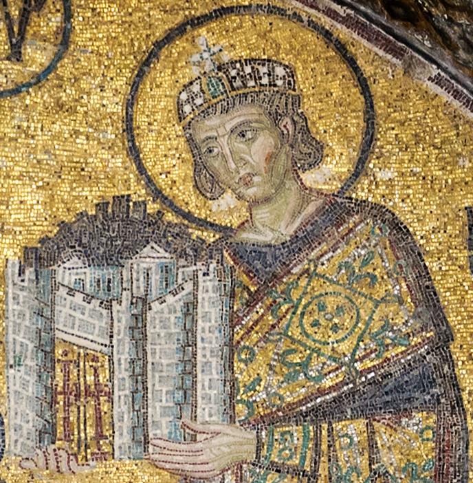 Ο Μέγας Κωνσταντίνος (ψηφιδωτό)