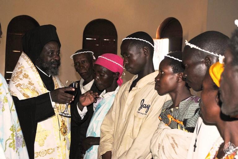 Ομαδικοί γάμοι μετά από βάπτιση στο Μπουρούντι