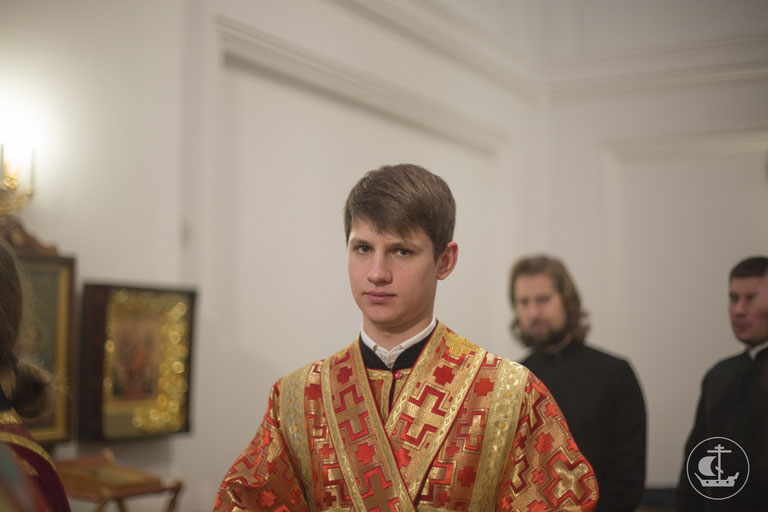 Saint-Petersburg orthodox theological academy