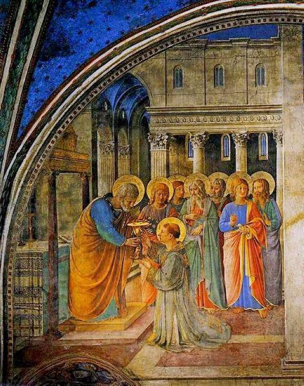 Οι 7 Διάκονοι, τοιχογραφία του Fra Angelico, Dennis Burlingham