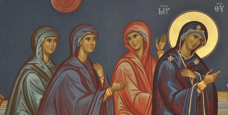 Η Θεοτόκος οδηγεί ψυχές στο Χριστό