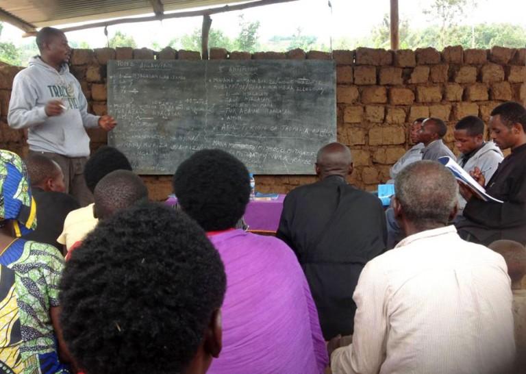 Κατήχηση στη Ρουάντα