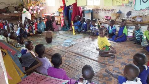 Orthodox kindergarten in Uganda