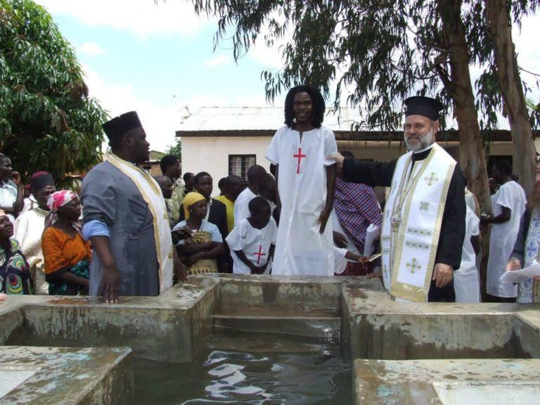 Βαπτίσεις στη Μητρόπολη Ειρηνουπόλεως