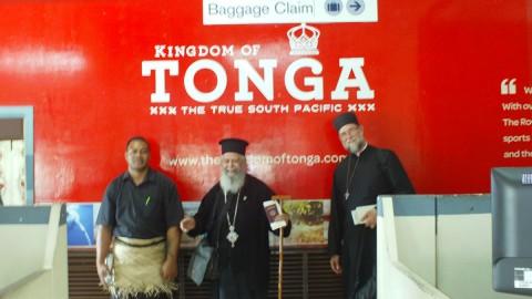 Πρώτη ιστορική επίσκεψη Ορθοδόξου ιεραποστόλου στα νησιά Τόνγκα