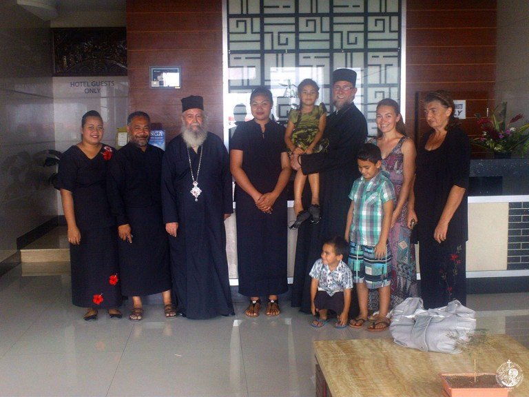 Από την πρώτη επίσκεψη Ορθοδόξου ιεραποστόλου στα νησιά Τόνγκα