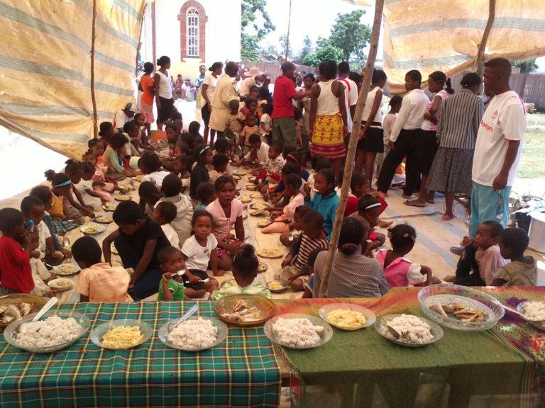 Συσσίτιο στο Antananarivo