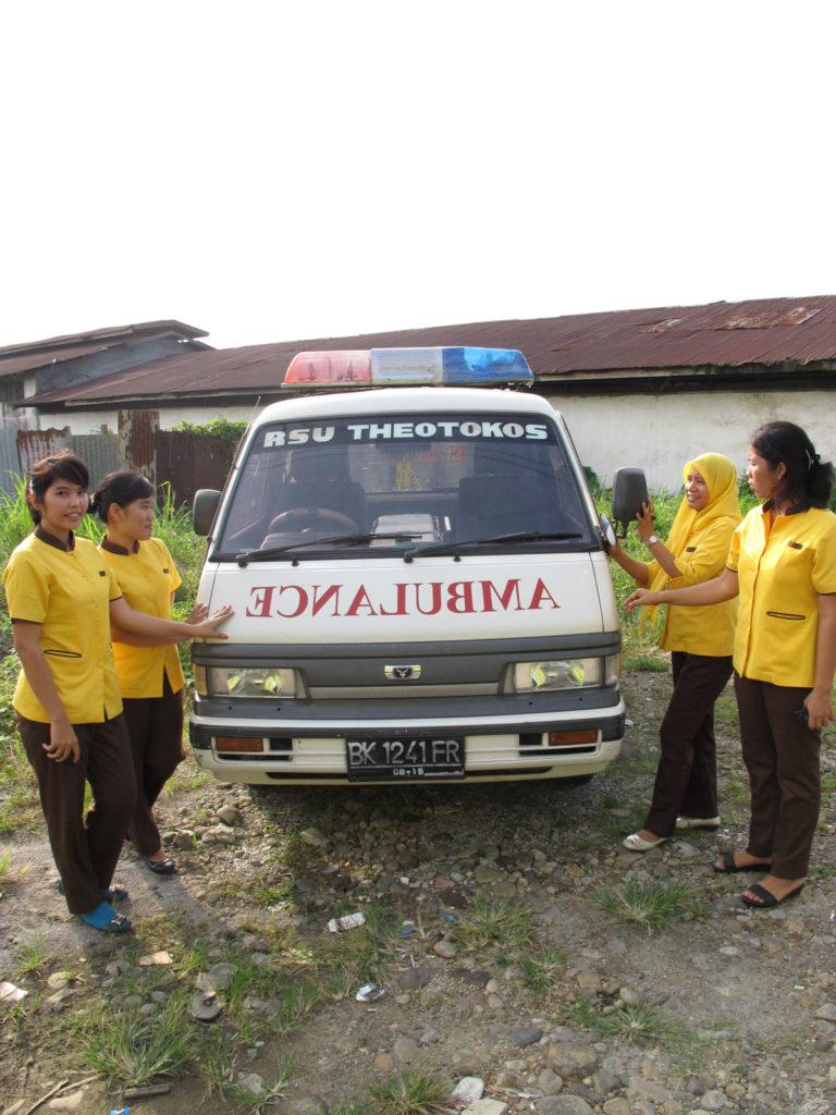 """Στο Νοσοκομείο """"Θεοτόκος"""", Medan"""
