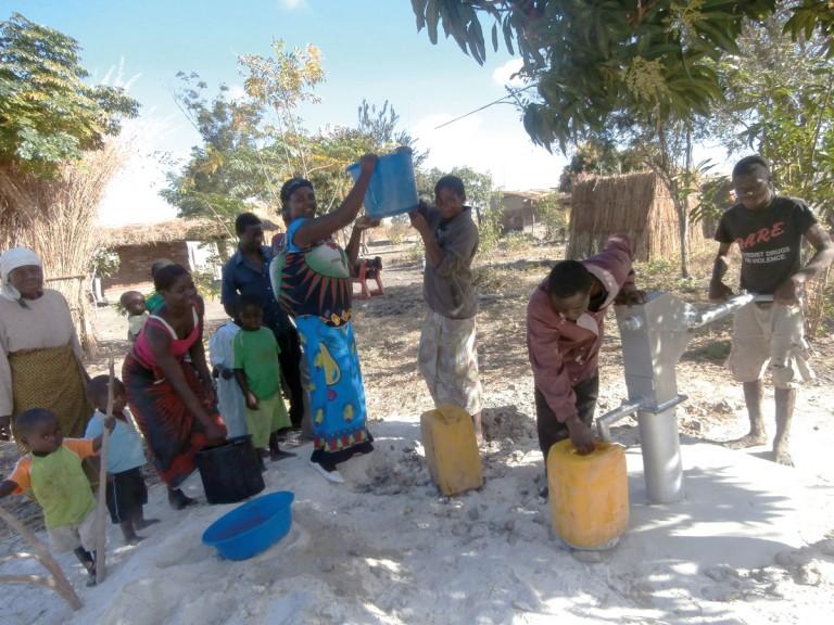 Αντλία νερού στο Ntcheu, Μαλάουι
